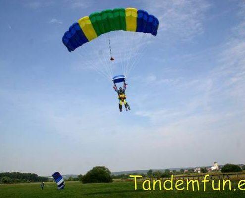 Fallschirmspringen Geschenk Idee Regensburg