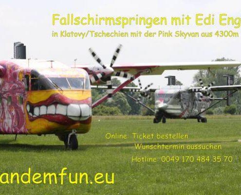 Fallschirmspringen Regensburg mit Tandemfun aus Amberg in der Oberpfalz. Hol Dir den Spass beim Tandemspringen aus bis zu 6000 Meter Ansprunghöhe. Ein Erlebnis Gutschein macht Spass und Freude.
