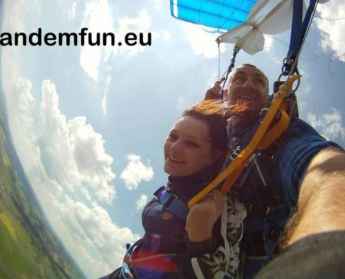 Fallschirmspringen Amberg Oberpfalz mit Edi Engl