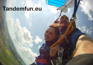 Tandemsprung Amberg, Fallschirmspringen Amberg Oberpfalz mit Tandemfun Edi Engl
