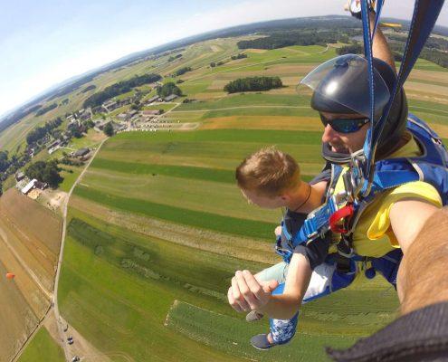 Fallschirmsprung schenken