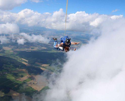 Tandemsprung in Tschechien