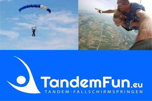 Tandemsprung Rothenburg ob der Tauber mit Tandemfun