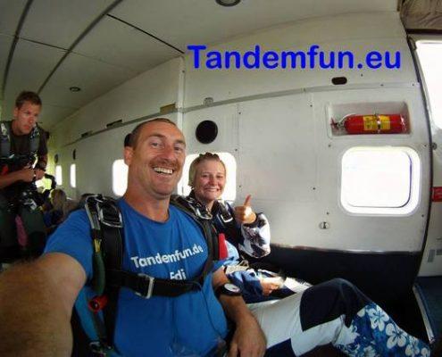 Tandemsprung Bayern, Fallschirmspringen Geschenk Gutschein