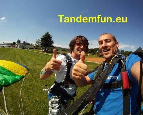 Fallschirmsprung Oberpfalz Tandemsprung