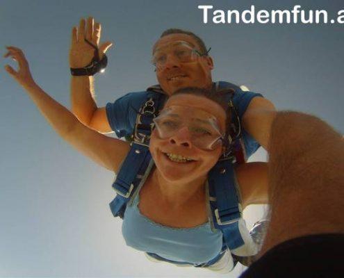 Fallschirmsprung München Oberbayern mit Tandemfun