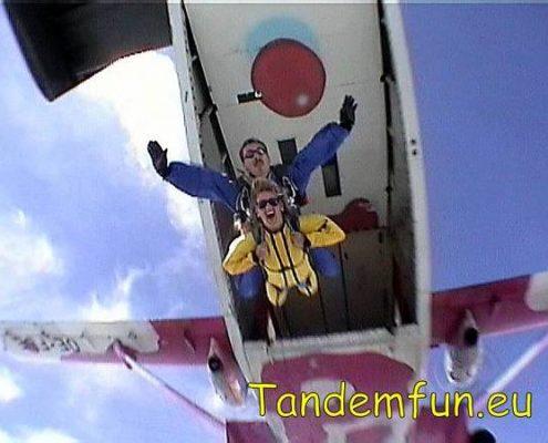 Fallschirmsprung Tandemsprung Regensburg
