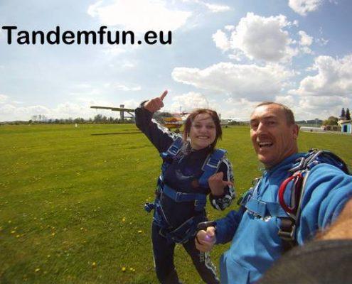 Fallschirmsprung Amberg Tandemsprung Gutschein Geschenk