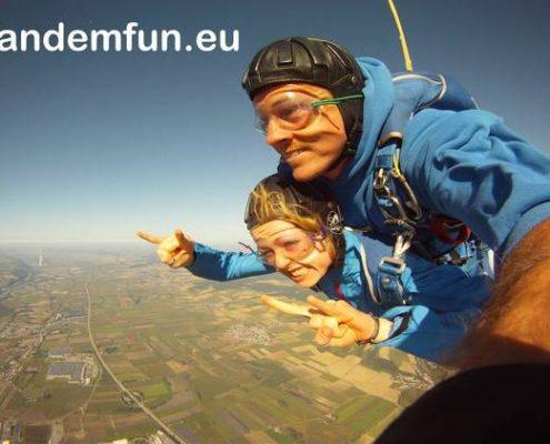Fallschirmspringen Oberbayern München mitTandemfun