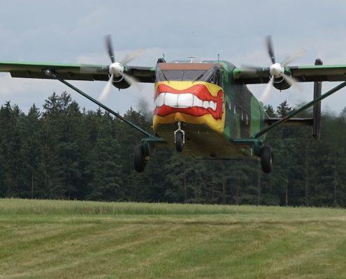 Fallschirmsprung Kirchberg am Walde, Fromberg