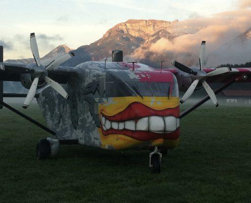 Fallschirmsprung Tandemsprung Radfeld Tirol