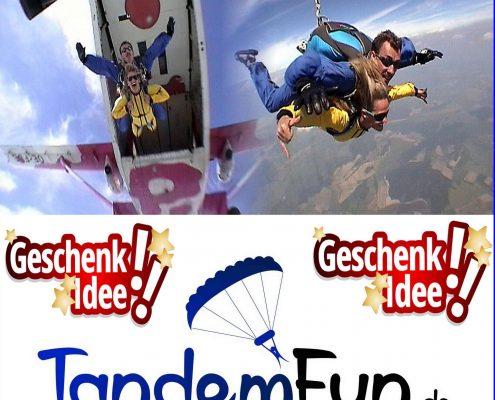Fallschirmspringen in Radfeld Tirol
