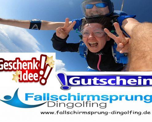 Fallschirmspringen Preise Gutschein Geschenk