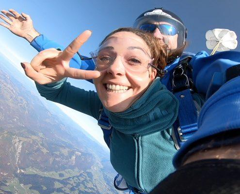 Fallschirmspringen Zell am See