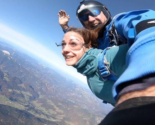 Skydive Tirol Österreich