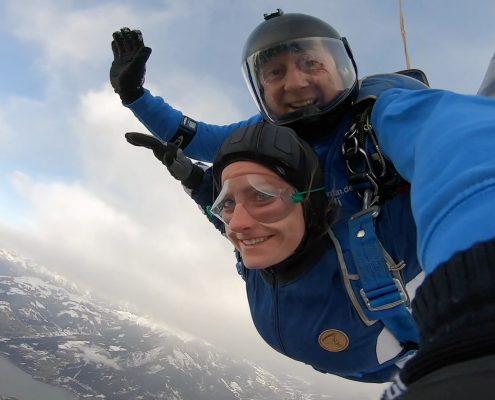 Zell am See Fallschirmspringen