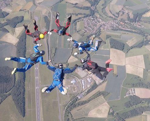 Fallschirmsprung Zweibrücken