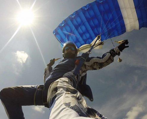 Fallschirmspringen Ausbildung AFF