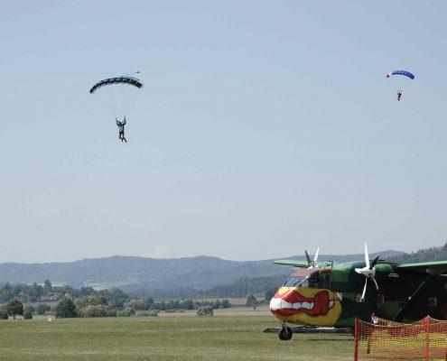 Fallschirmsprung Ausbildung AFF
